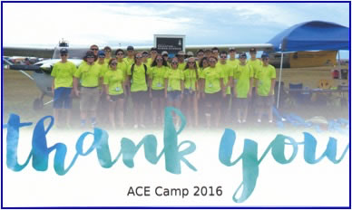 Thank You Ace Camp 2016